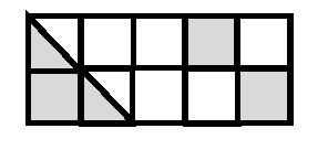 fraction shaded