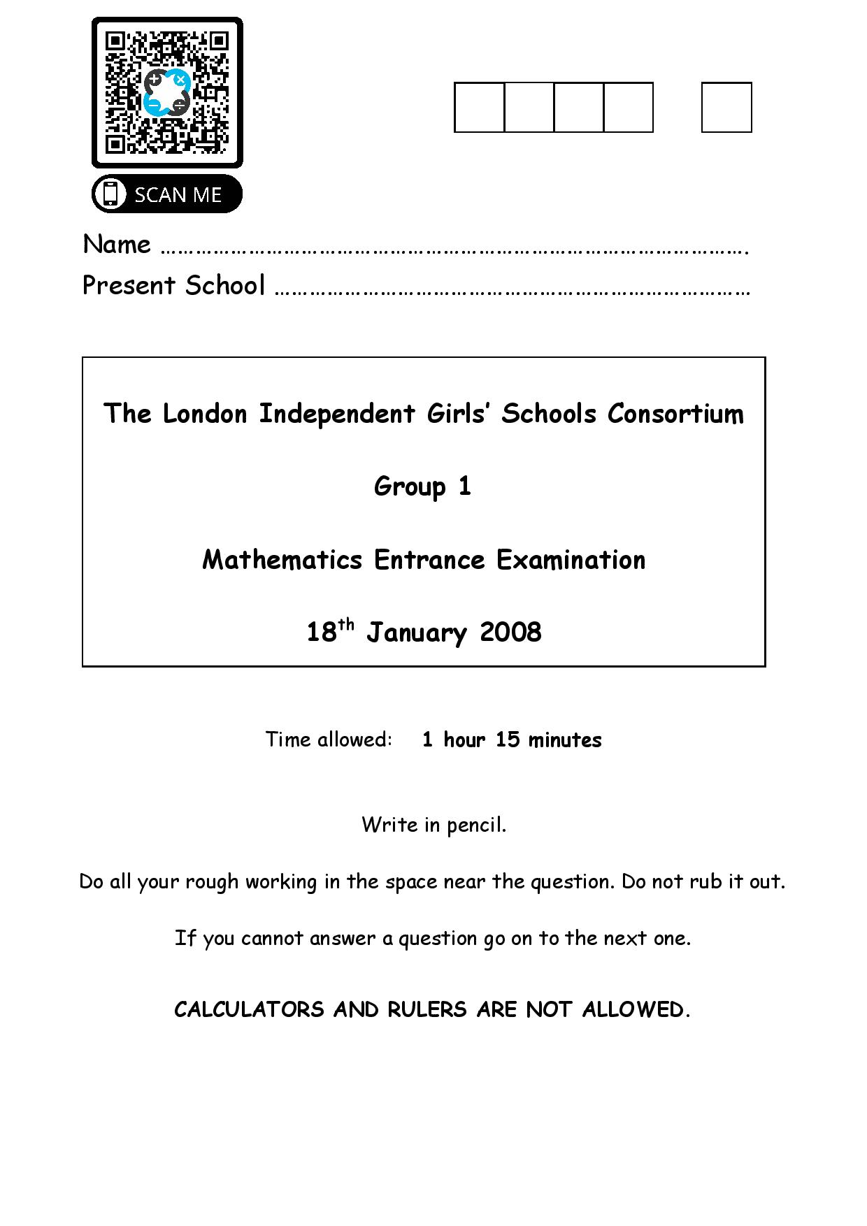 Group 1 Maths 2008 1 page 001
