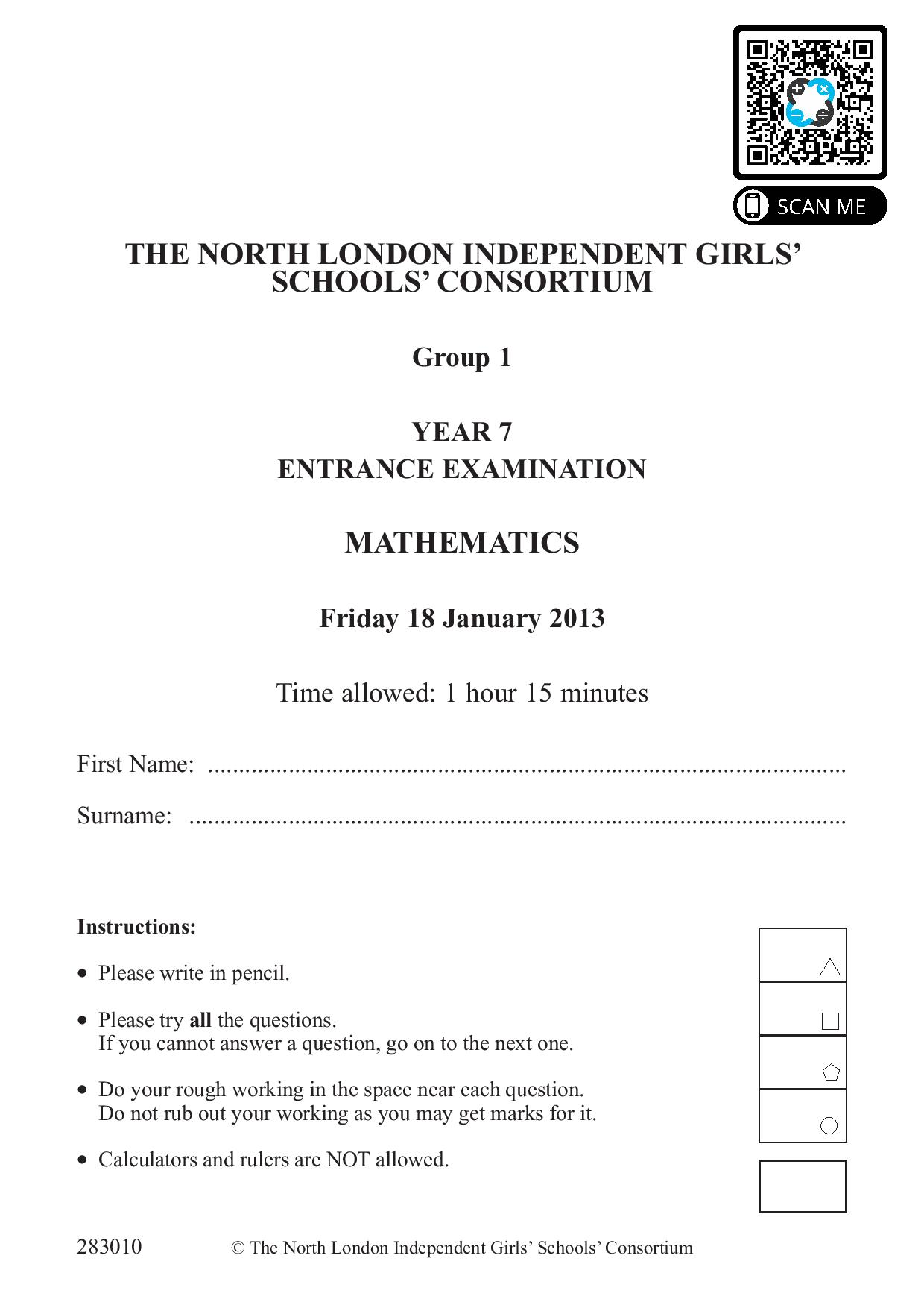 Group 1 Maths 2013 page 001