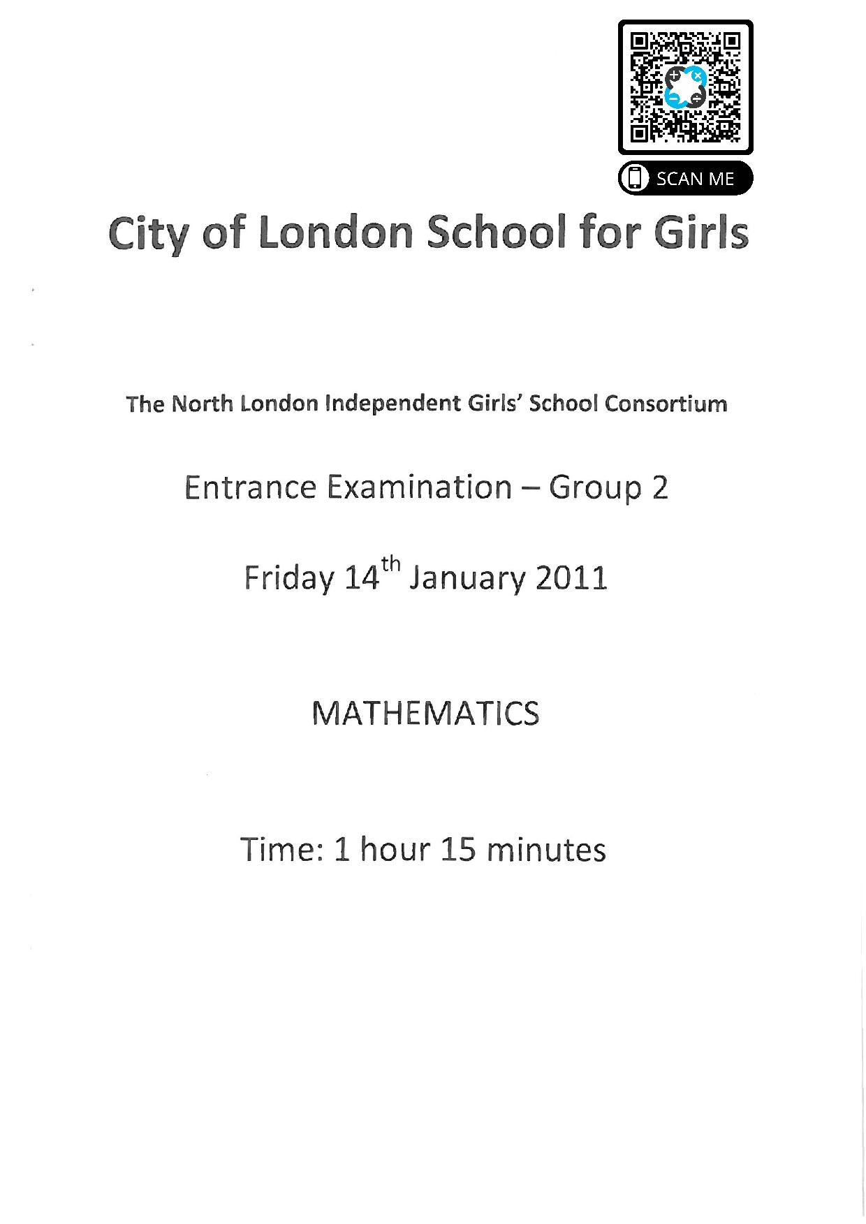 Group 2 Maths 2011 1 page 001 1