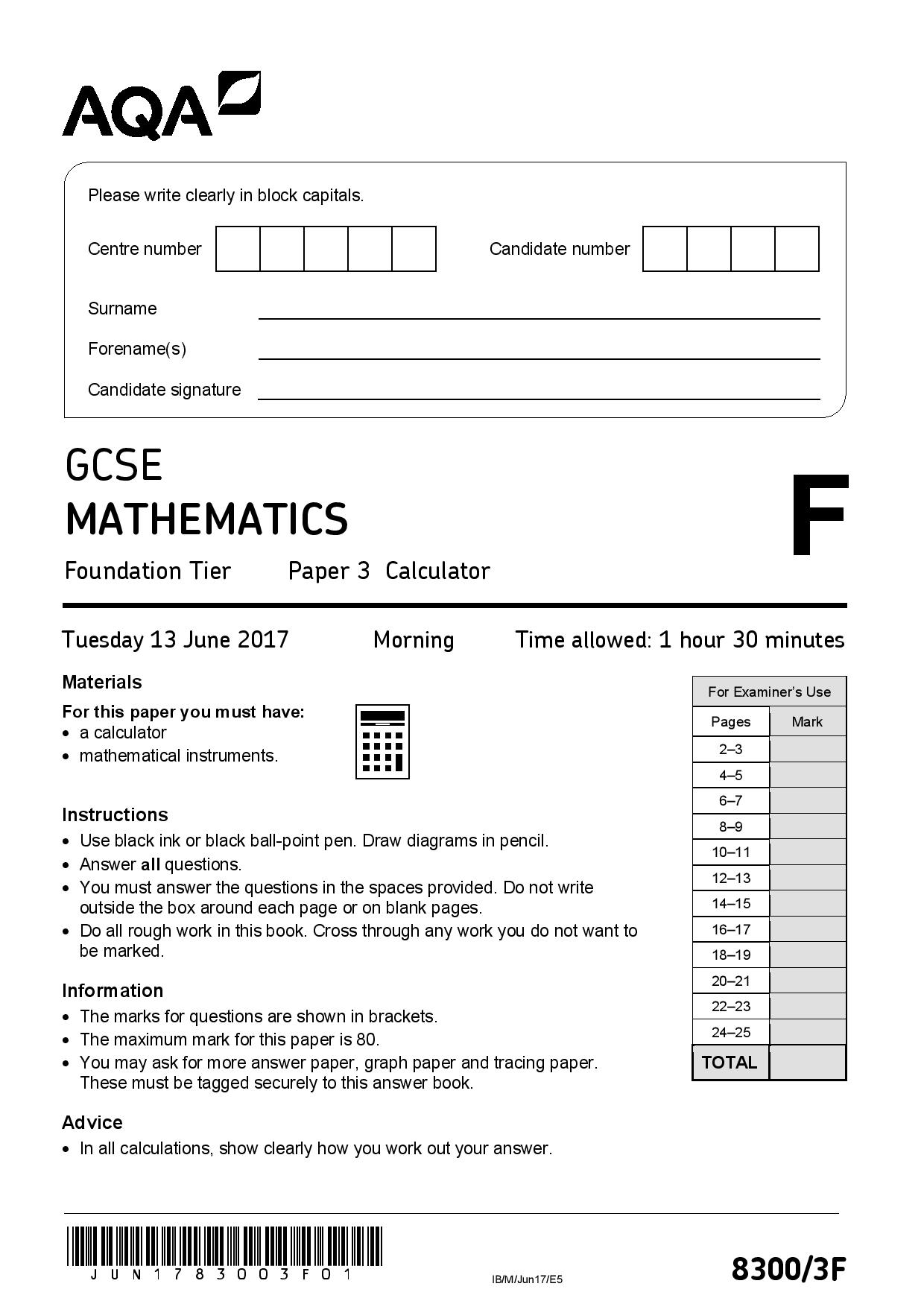 JUNE 2017 FOUNDATION PAPER 3 page 001